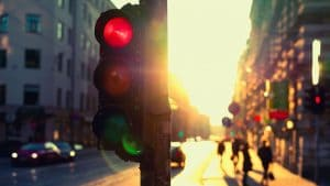 40acts traffic lights - three ways to do Lent generously